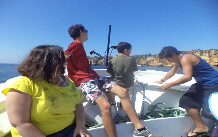 Passeio de barco 2013