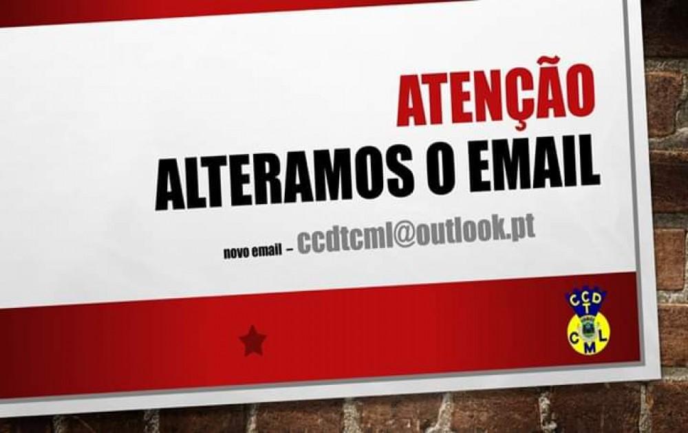 Alteração de Email